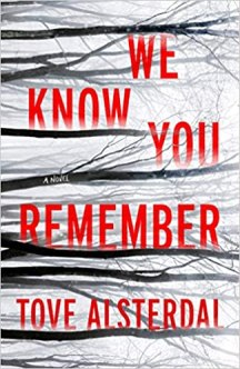 we know you remember by tove alsterdal