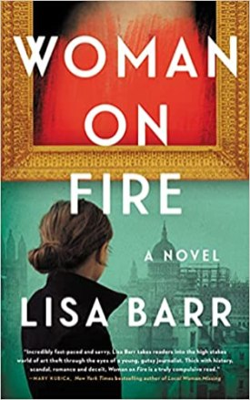 woman on fire by lisa barr