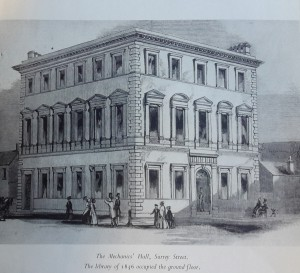 Home of Sheffield's first public library