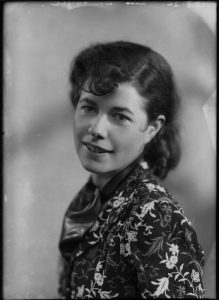 Christina Foyle, by Bassano, whole-plate glass negative, 7 December 1936 (NPG)
