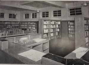 Inside Redheugh Library