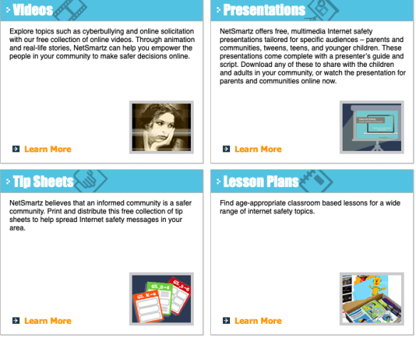 NetSmartz | Reading Specialty