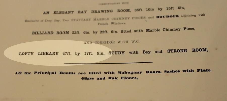 Godmersham library auction description.