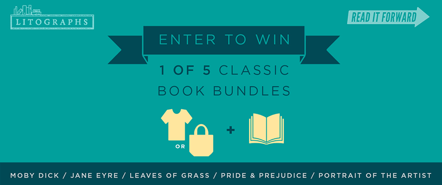 Read It Forward + Litographs Classic Book Bundle giveaway image