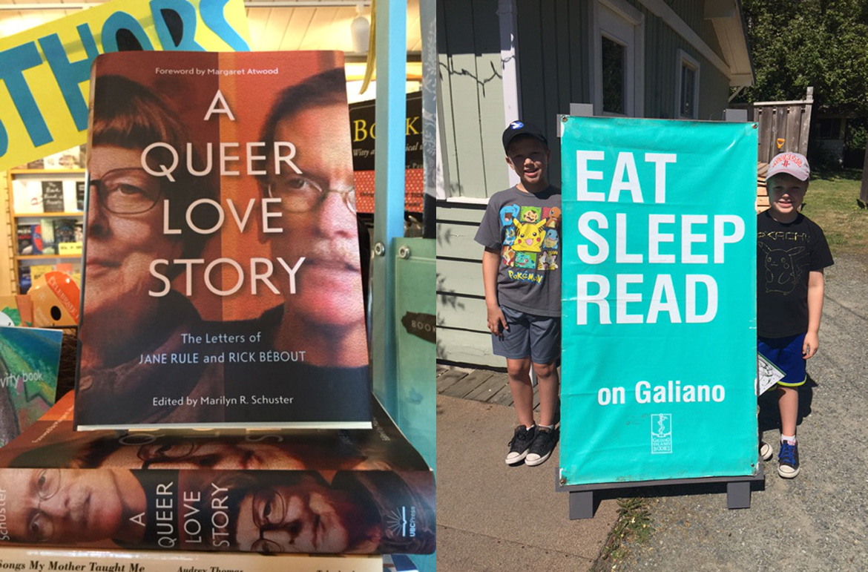 Eat Sleep Read on Galiano