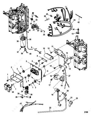MercuryMariner 50 EFI 4 Cyl 4Stroke, Electrical