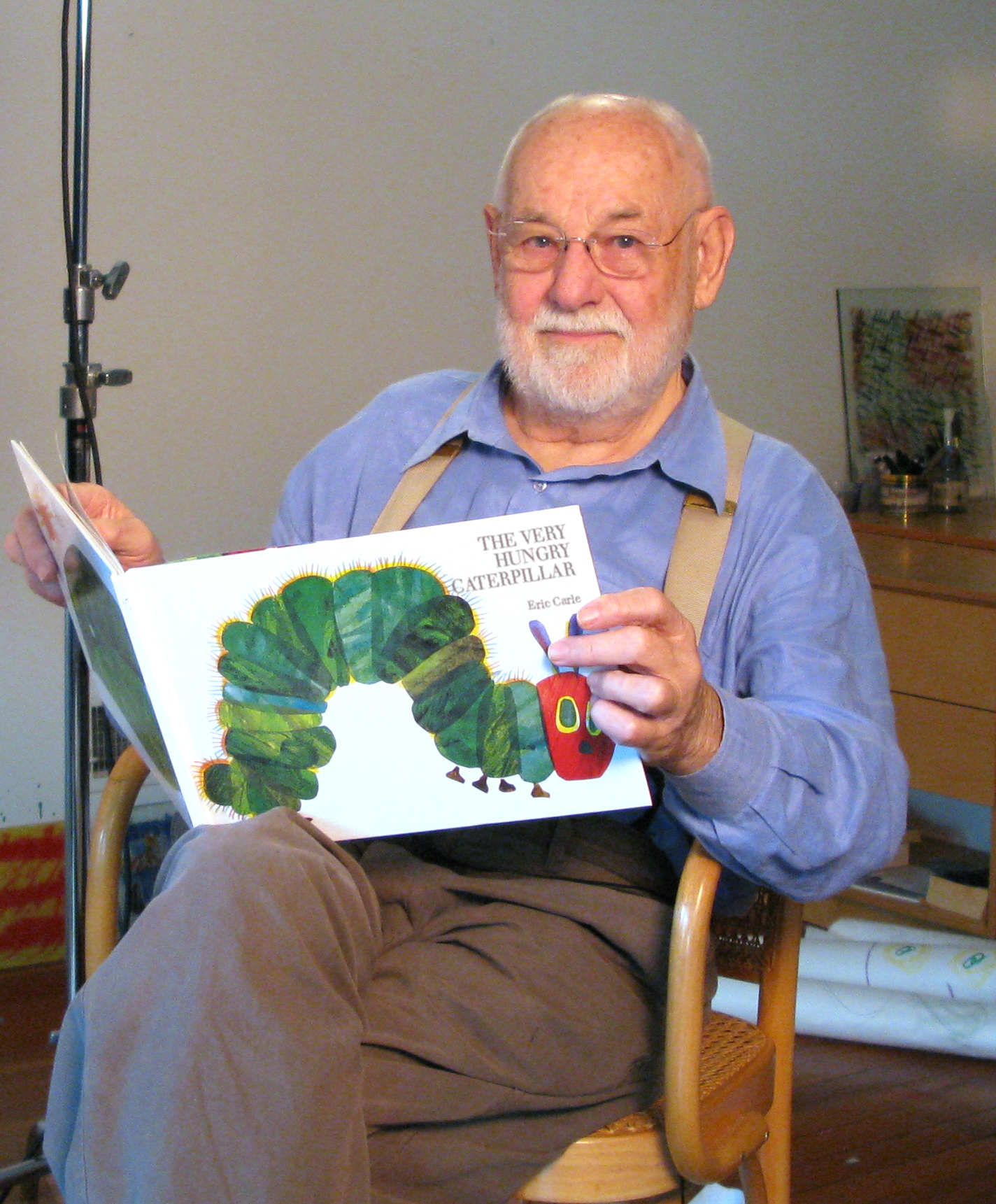 Interview With Eric Carle Of The Very Hungry Caterpillar