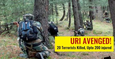 India Retaliates: Spl Forces Enter LOC and kill 20 TERRORISTS and upto 200 injured