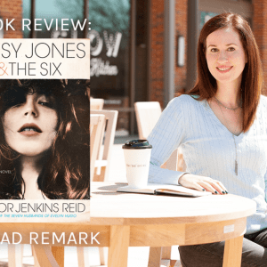 Read Remark booktube book review - Daisy Jones and the Six by Taylor Jenkins Reid