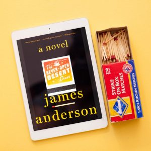 Read Remark Book Review - The Never Open Desert Diner by James Anderson