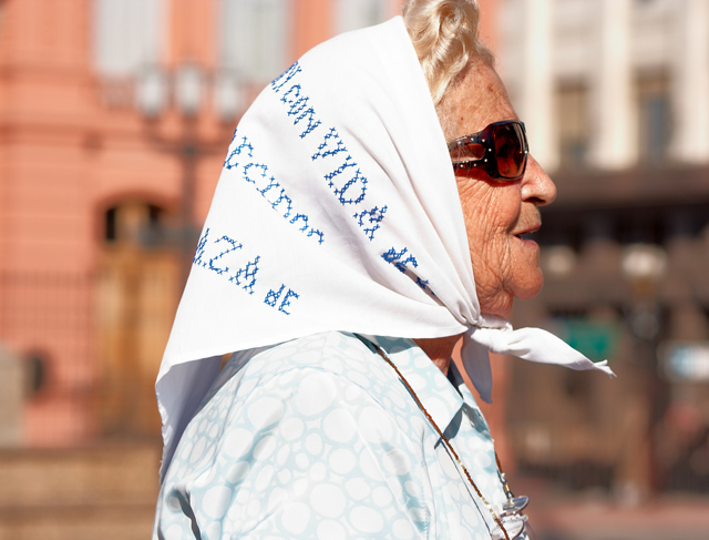 Member of Mothers de la Plaza de Mayo