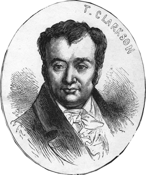 Thomas Clarkson, from Heroes of the Slave Trade Abolition, by unknown artist