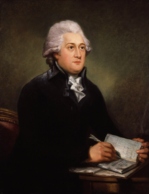A portrait of Thomas Clarkson by Carl Frederik von Breda