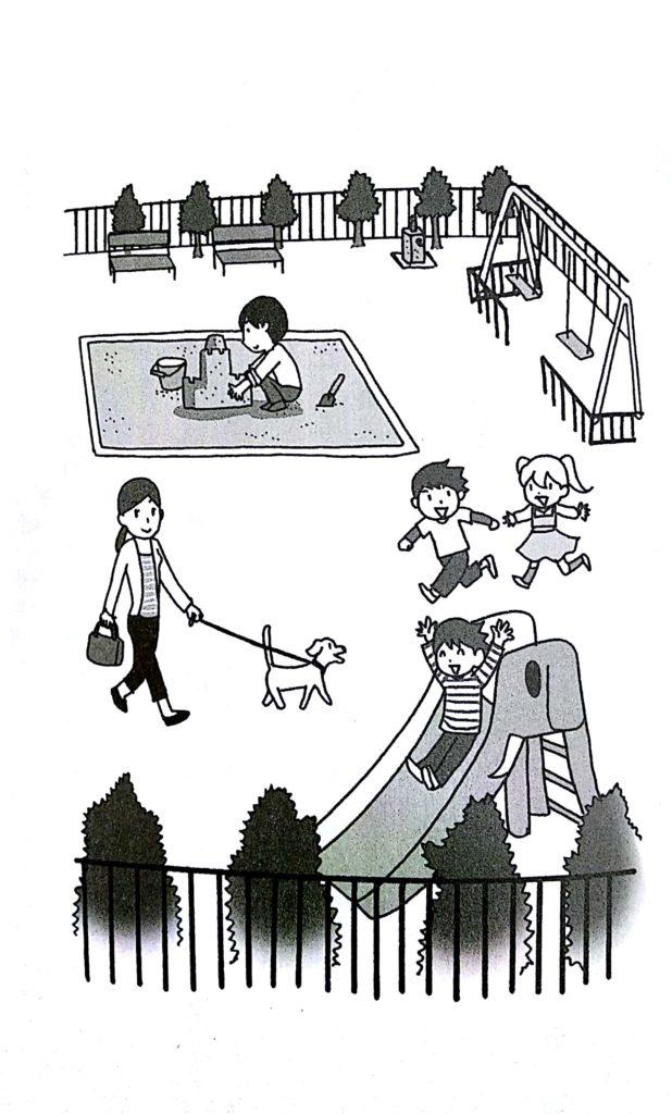 書中的範例:公園圖