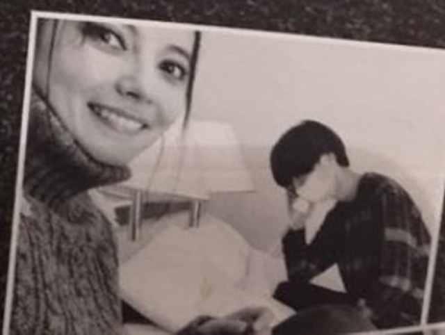 Becky與川谷早前被雜誌揭發不倫戀。