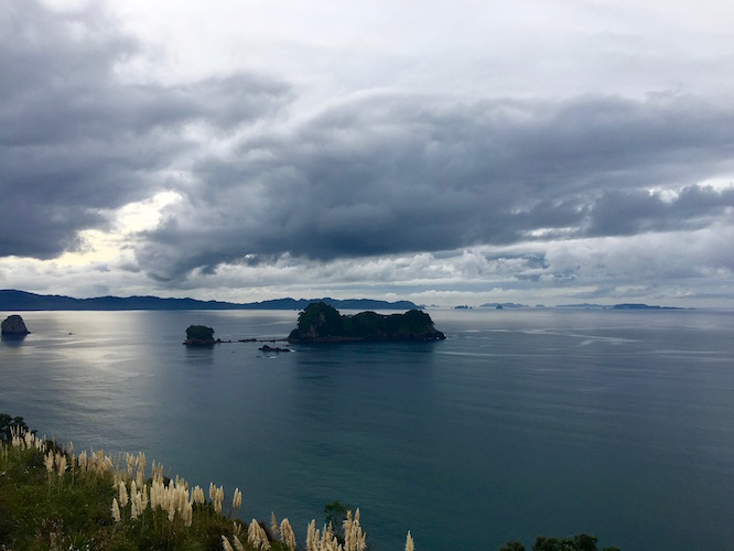NZ Walk to Cathedral Cove