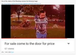Kid For Sale on YouTube