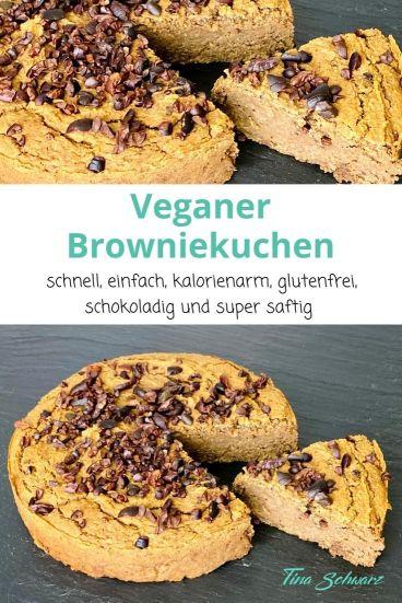Veganer-Browniekuchen