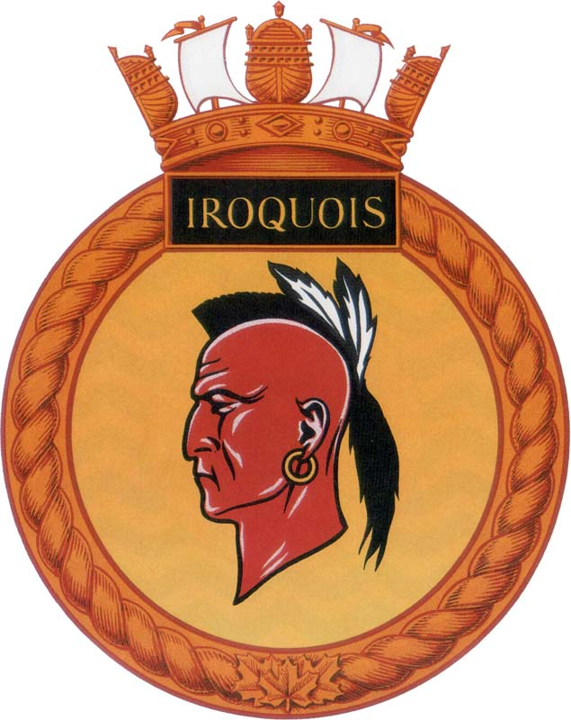 Hmcs Iroquois Badge