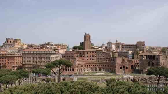 Widok z Kapitolu w Rzymie