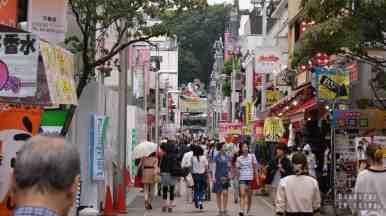 Japonia, Tokio - Harajuku, ulica Tajeshito Dori