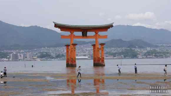 Brama Torii Gate - Itsukushima Shrine