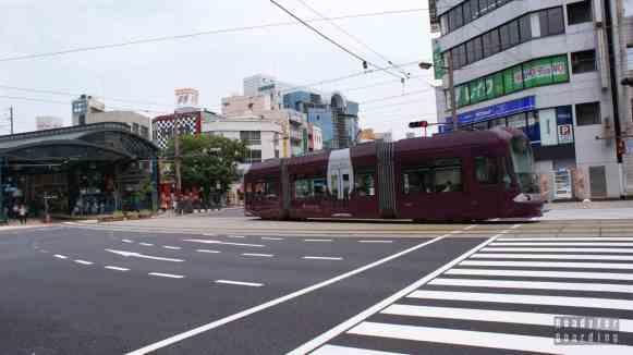 Tramwaje w mieście Hiroszima