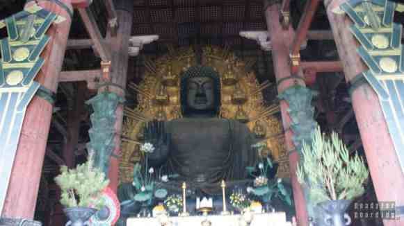Big Buddha Hall w Todaiji Temple w Nara