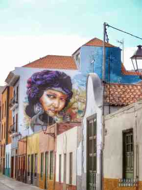Street art w Puerto de la Cruz - Teneryfa