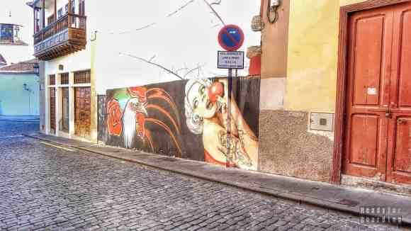 Street art w Santa Cruz de Tenerife