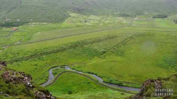 Widok w okolicy Geysir, Golden Circle - Islandia