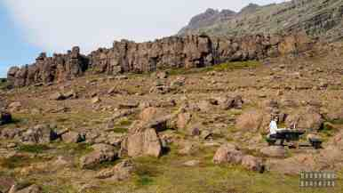 Piknik z widokiem, Islandia
