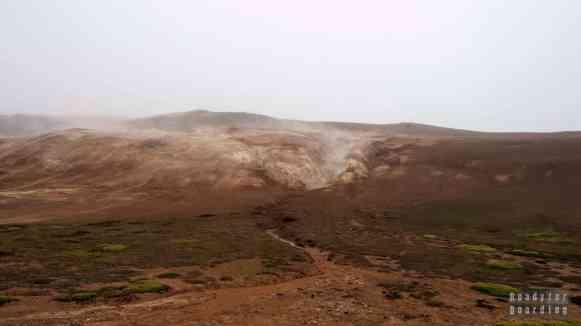 Droga do Leirhnjúkur, Islandia północna
