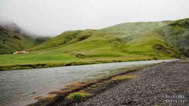 Wodospad Skógafoss - Islandia