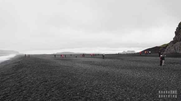 Plaża Reynisfjara, Vik - Islandia
