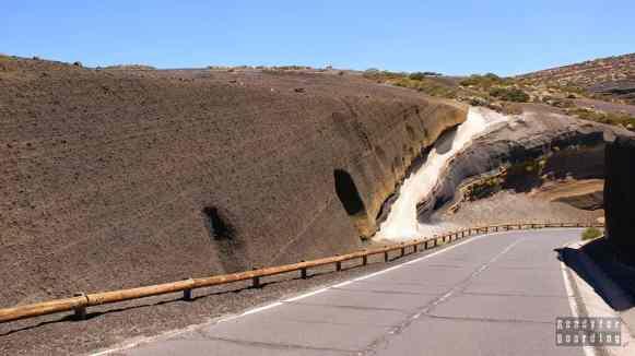 Teneryfa - Teide, skały like a cake