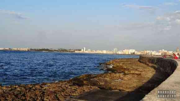 Malecon, Hawana - Kuba