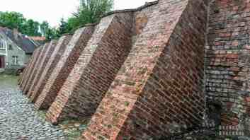 Pasłęk - mury obronne