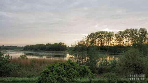 Kanał Elbląski, Jezioro Piniewo - Folwark Karczemka