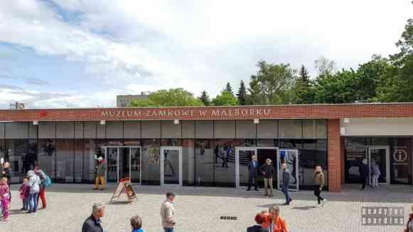 Zamek w Malborku - kasy