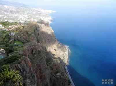 Widok z Cabo Girão, Madera