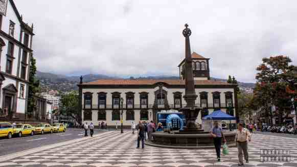 Praca do Municipio - Funchal, Madera