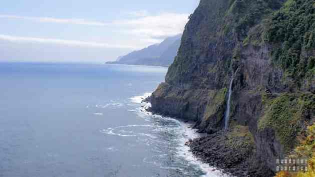 Welon panny młodej - wodospad na Maderze