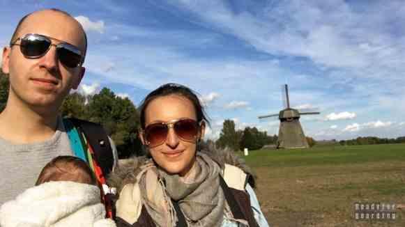 Wiatrak, Skansen w Rumszyszkach - Litwa