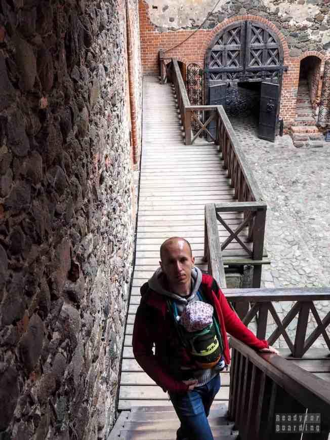 Dziedziniec, Zamek Górny - Troki