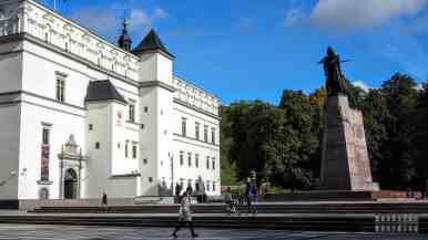 Pomnik Giedymina, Wilno - Litwa