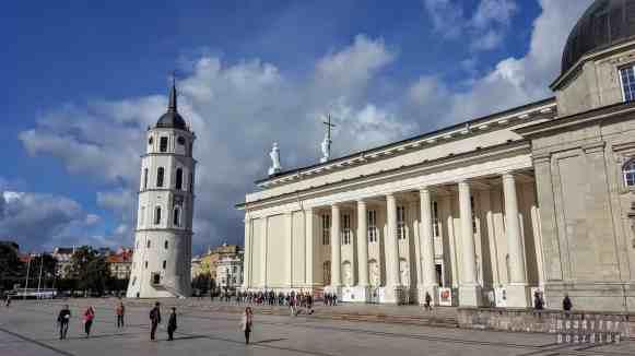 Archikatedra i dzwonnica w Wilnie