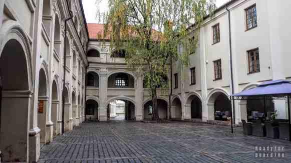 Dziedziniec na Starym Mieście - Wilno, Litwa