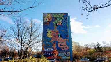 Tukany, R. Roskowiński - Murale na Osiedlu Zaspa