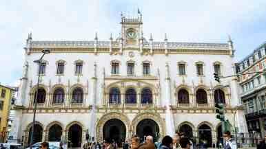 Stacja kolejowa Rossio, Lizbona